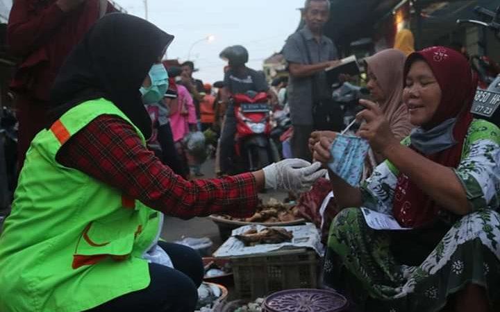Antisipasi Covid-19, DSU dan Tim Relawan Bagikan Masker Gratis Sebanyak 2.500