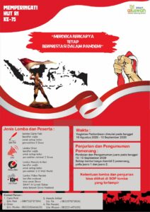 Flyer resmi lomba SMAIT Al Uswah Tuban (Sumber: Humas/2020)