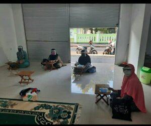 Kegiatan belajar Al-Qur'an di BQ (Foto: Fadli/2020)