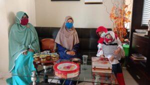 Home visit ke kediaman wali murid (Foto: Anik/2020)