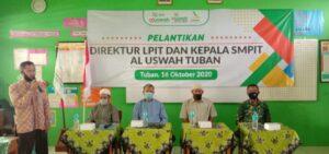 Sambutan Direktur LPIT Al Uswah Tuban (Foto: Admin/2020)