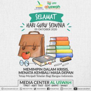 Flyer Hari Guru Sedunia LPIT Al Uswah Tuban (Sumber: MC/2020)