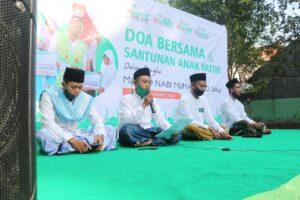 Doa bersama dan tilawah tiga surah Al-Qur'an (Foto: MC/2020)