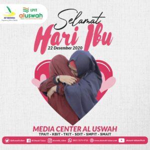 Flyer Hari Ibu Al Uswah Tuban (Sumber: MC/2020)