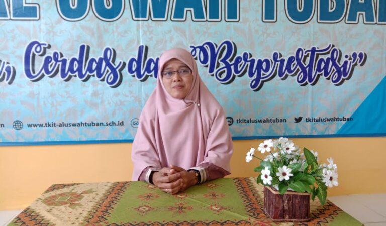 Ustazah Anik Sriani TKIT Al Uswah Ujian Munaqosyah Tahfiz Live Online