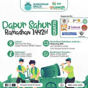 Flyer resmi DSU Tuban (Sumber: DSU/2021)