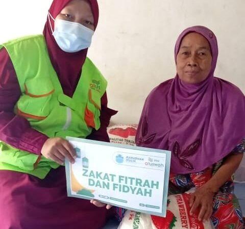 DSU Tuban Salurkan Paket Ramadhan Hingga Perbatasan Tuban