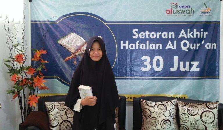 Syahadah Asma Amanina: Saya Ingin Memakaikan Mahkota ke Orang Tua di Surga Nanti