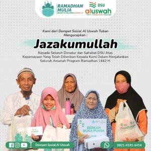 Flyer resmi dari DSU Tuban (I) (Sumber: DSU/2021)