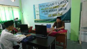 Divisi Al-Qur'an saat Halaqah Tahsin Al-Qur'an Bersanad (Foto: MC/2021)