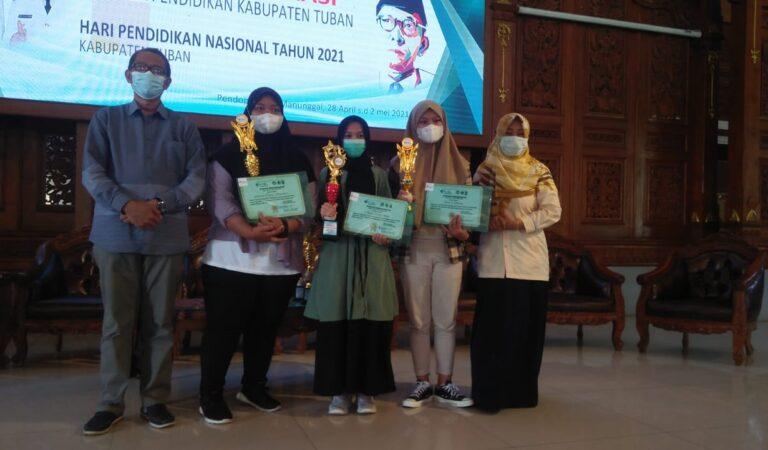 Qotrunnada Zahira SMAIT Al Uswah Raih Juara II di Festival Pendidikan IGI Tuban