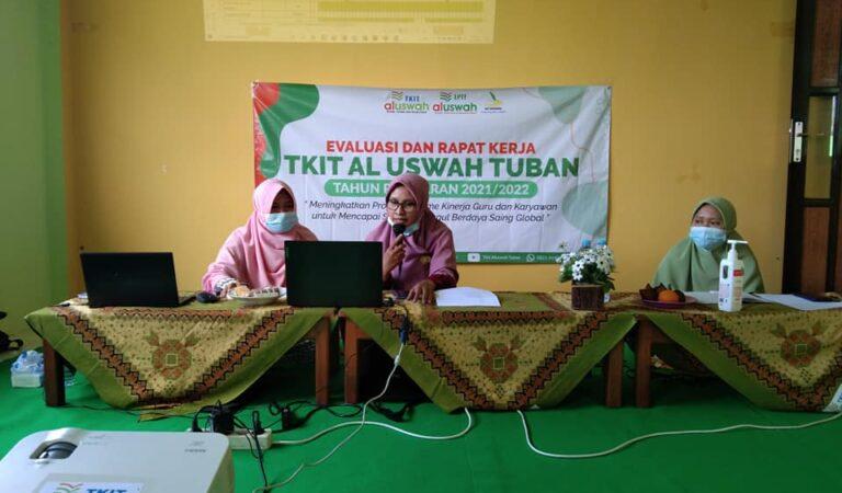 Rapat Kerja TKIT Al Uswah Tuban Siap Wujudkan Pembelajaran Aktif