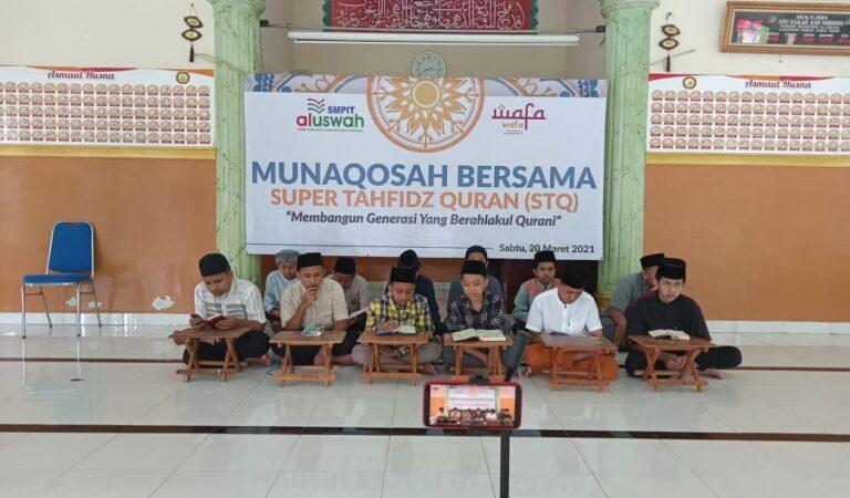 Setoran Akhir Hafalan Al-Qur'an 30 Juz Santriwati SMPIT Al Uswah Tuban