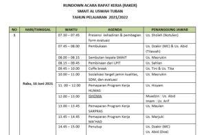 Jadwal (Sumber: Humas/2021)