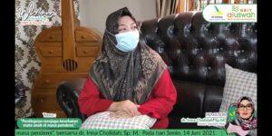 Dokter Irma Cholidah (Foto: MC/2021)