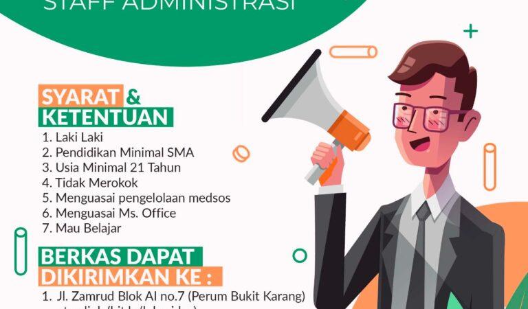 DSU Tuban Buka Lowongan Staff Administrasi