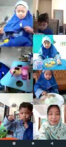 Anak saat makan (Foto: Reny/2021)