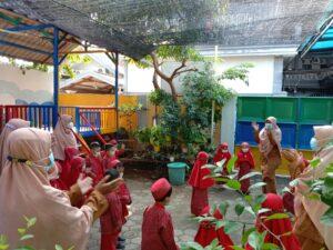 Pendampingan Maksimal Guru di KBIT Al Uswah Tuban (Foto: Humas/2021)